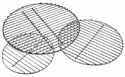 Weber Charcoal BBQ Replacement Grates