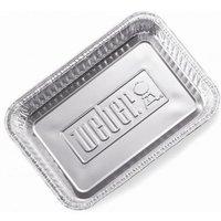 Weber BBQ Small Aluminum Drip Pans