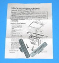 Frigidaire Dryer Stacking Kit