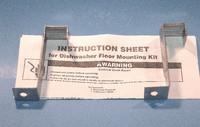 Dishwasher Floor Mount Bracket Kit